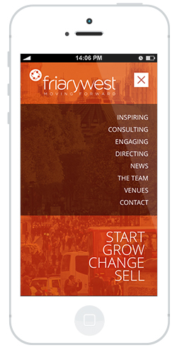 mobile friendly responsive design by intervision design