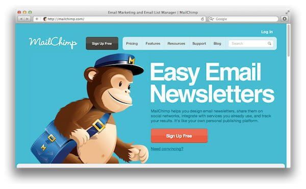 use a reputable email newsletter platform