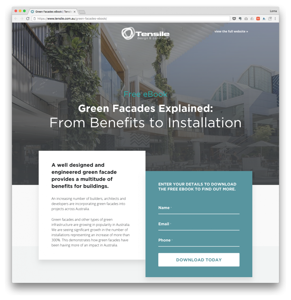 intervision design professional landing pages that convert